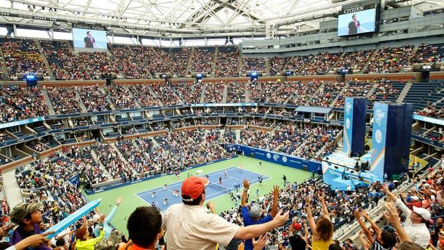 Ultimo Gran Slam del año, organizadores y jugadores, distendidos disfrutan de los shows en los dia previos.
