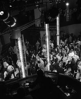 El club Studio 54 de Nueva York en 1979.