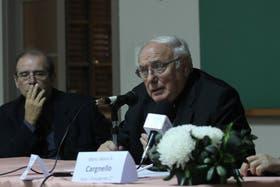 El presidente de la Conferencia Episcopal Argentina, monseñor José María ArancedoO