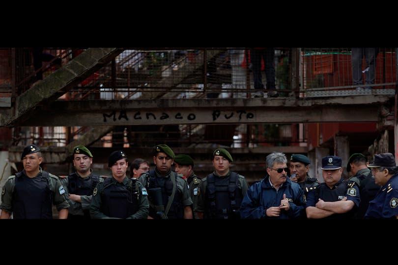 Operativo policial en Fuerte Apache. Foto: LA NACION / Aníbal Greco