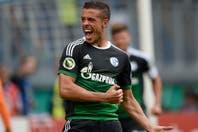 Franco Di Santo convirtió en su debut en el Schalke 04