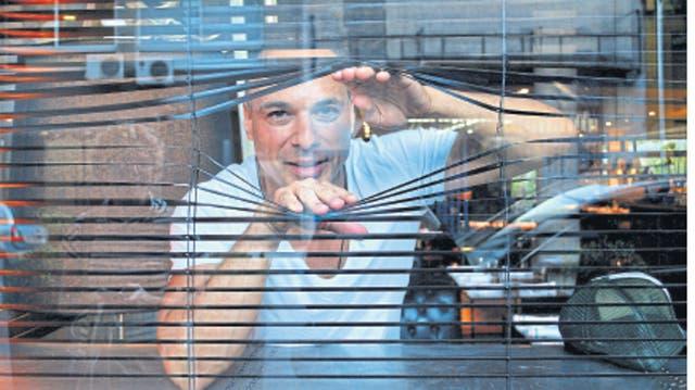 Laprise, de visita en Buenos Aires, recorre el universo de Soda