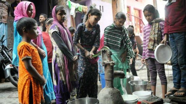 Las protestas están causando desabastecimiento de agua en Delhi