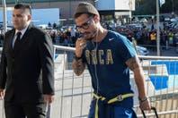 Boca echó a Daniel Osvaldo: le rescindirán el contrato