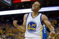 La noche de Stephen Curry: mirá los 31 puntos y las asistencias del base de Golden State