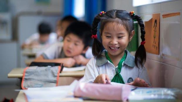 Los chiquillos de Shanghái saben tanto como niños tres años mayores de otras partes del mundo