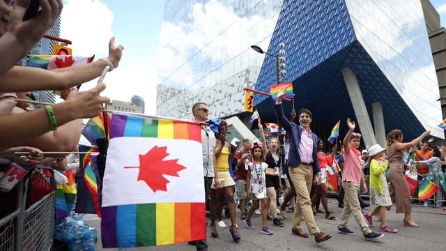 Justin Trudeau envió un mensaje oculto a los musulmanes a través de sus medias