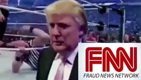 Trump subió un video trucado de un show de lucha libre en el que aparece golpeando en el piso a un hombre con el logo de la CNN