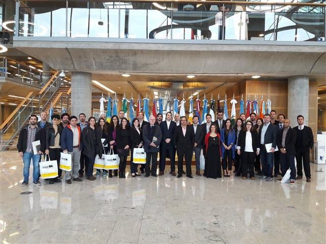 El grupo de empresarios que participará de la primera edición del programa