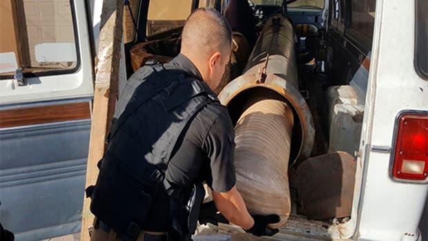 Hallan más de 800 kilos de marihuana en un 'narco cañón'