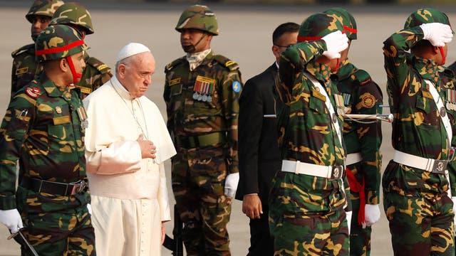 El Papa en Bangladesh