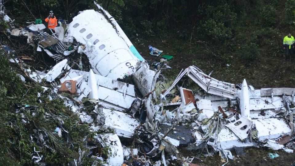 La verdad sobre el vuelo accidentado CDF