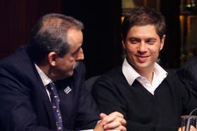 Guillermo Moreno y Axel Kicillof