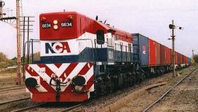 Apenas el 20% de los granos del Norte bajan a la zona de los puertos de Rosario por tren