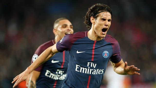 Champions League: Dani Alves y Cavani anotaron para la ventaja a los locales