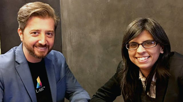 Carlos Limeres y Amelia Bernal, CEO y CTO de ProvaShop