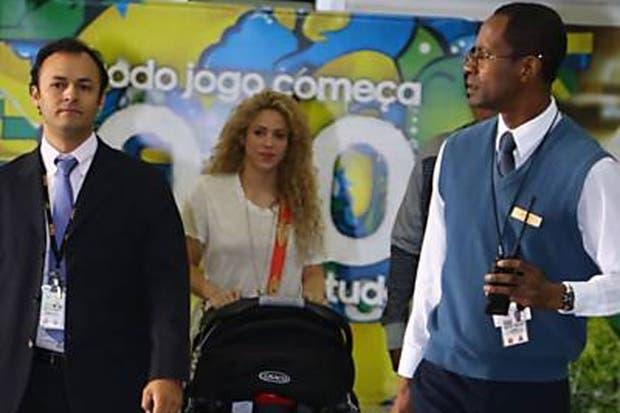 Shakira, en Brasil