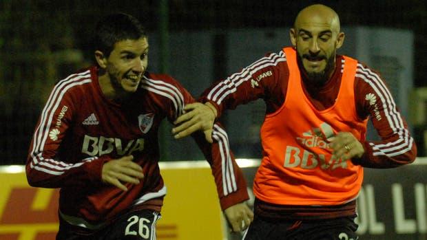 Nacho Fernández y Pinola, durante la práctica en Asunción