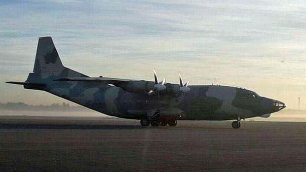 El avión de la Aviación Militar Bolivariana aterrizó en Buenos Aires en la madrugada de ayer