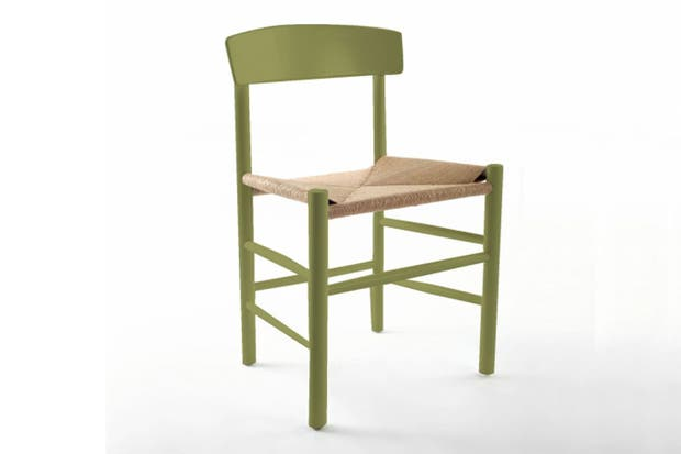 La silla de estilo nórdico de Broca.
