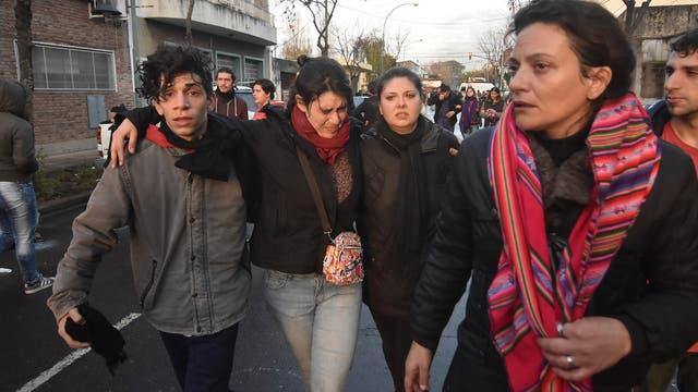 En el desalojo la policía se enfrentó con los trabajadores y tiraron gases lacrimógenos