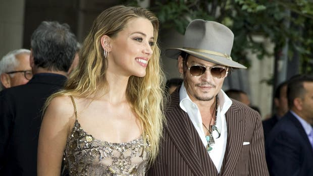 Video muestra a Johnny Depp violento con Amber Heard