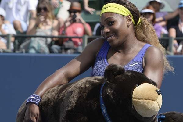 Serena y un tierno regalo