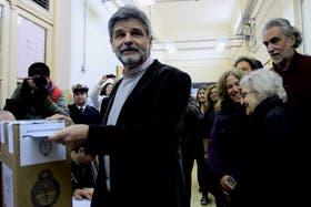 Filmus ya se mostró en campaña tras el revés electoral