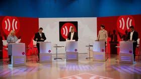 Los candidatos a diputados nacionales por la ciudad de Buenos Aires, en el debate de TN