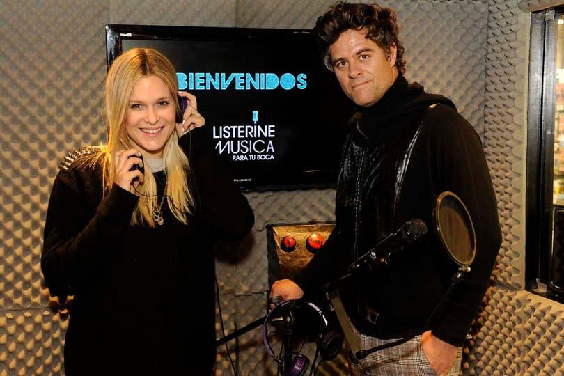 Jenny Williams y Mike Amigorena, dos celebrities eventeras. Foto: Gentileza Ana Morteo, Prensa y Comunicación