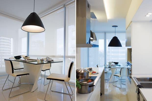 Iluminación: dos vecinos, dos estilos - Iluminación - ESPACIO LIVING