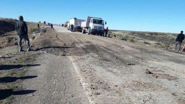 Vialidad Nacional reparó la grieta de la ruta 3 que había dejado aislada a la ciudad de Comodoro Rivadavia
