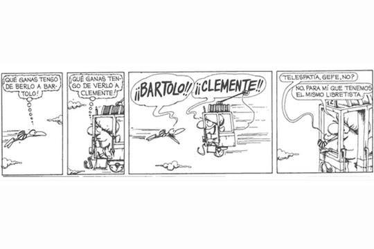Apareció en la tira en 1973, presentado por Bartolo. Foto: caloi.com.ar