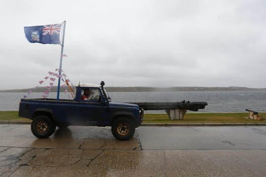 Los isleños esperan enviar un mensaje contundente al gobierno argentino. Foto: EFE