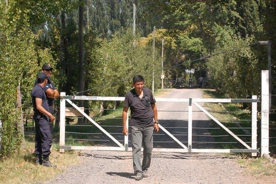 La chacra donde murió Carlos Soria está ubicada en las afueras de General Roca. Foto: Télam