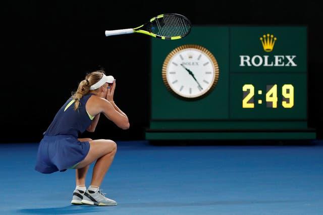 Wozniacki, la nueva campeona del Abierto de Australia
