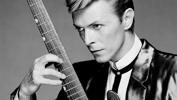 Una imagen histórica de David Bowie