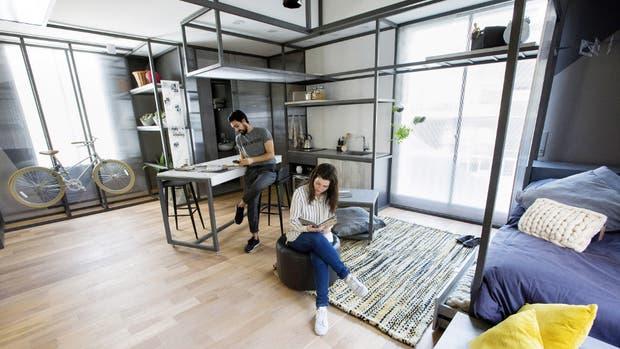 En 37m², la arquitecta Laura Libenson desarrolló el proyecto ganador de la Beca Casa FOA 2017