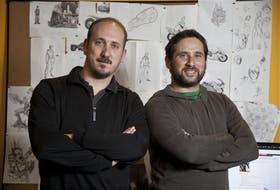Andrés Chilkowski y Ezequiel Baum, de NGD Studios. Su títulode rol masivo en línea Regnum Online cuenta con más de unmillón y medio de usuarios registrados