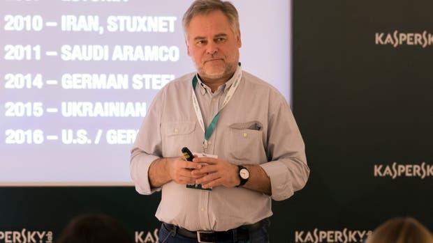 Eugene Kaspersky, experto en ciberseguridad