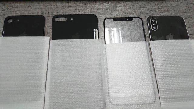 Así es la parte posterior del nuevo iPhone en una de las dos imágenes que se filtraron en Internet