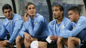 Mayada, con la selección uruguaya