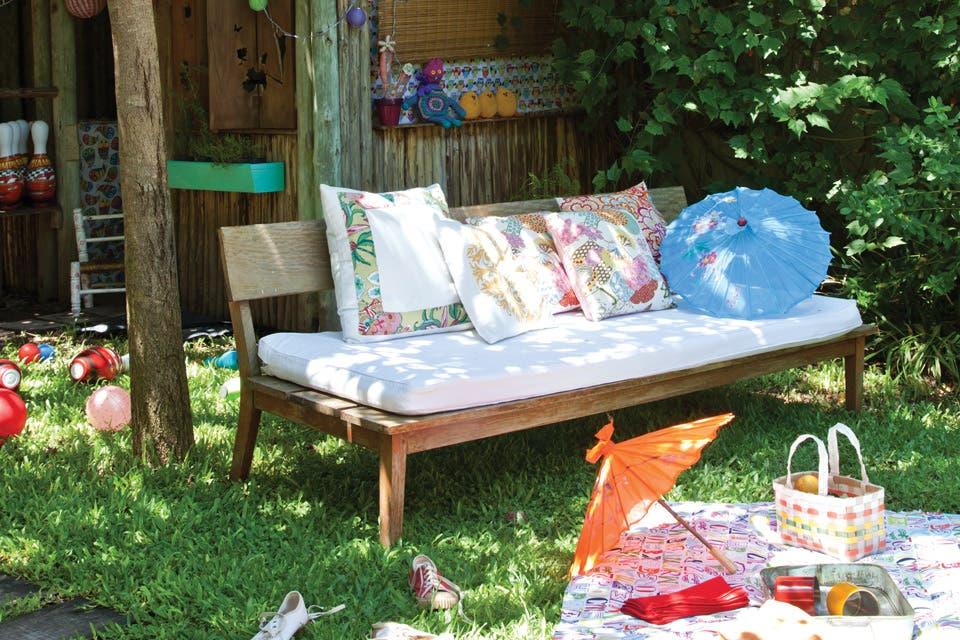 Un jardín para disfrutar en compañía