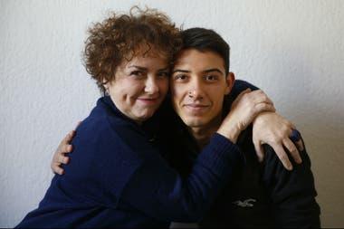 Gaby Ferrero adoptó a Osqui Márquez Ferrero cuando tenía seis años
