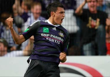 Entre 2008 y 2016, Suárez jugó en Anderlecht de Bélgica y conquistó ocho títulos