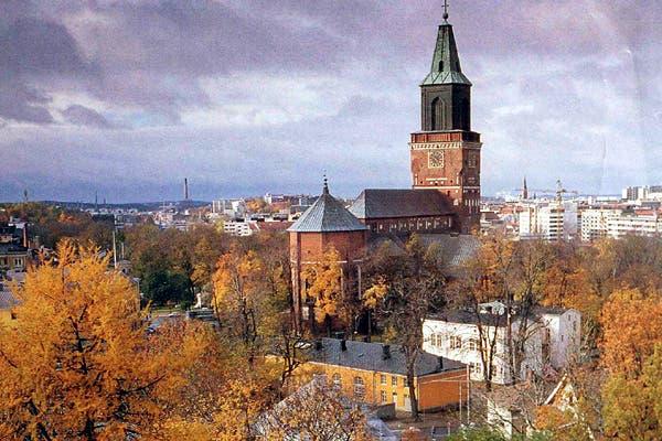Helsinksi, la capital finlandesa