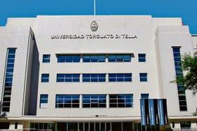 El edificio remodelado por la UTDT
