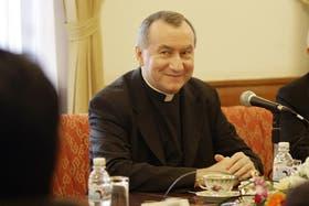 Pietro Parolin, flamante sucesor de Tarcisio Bertone, en una imagen de archivo, de febrero de 2009