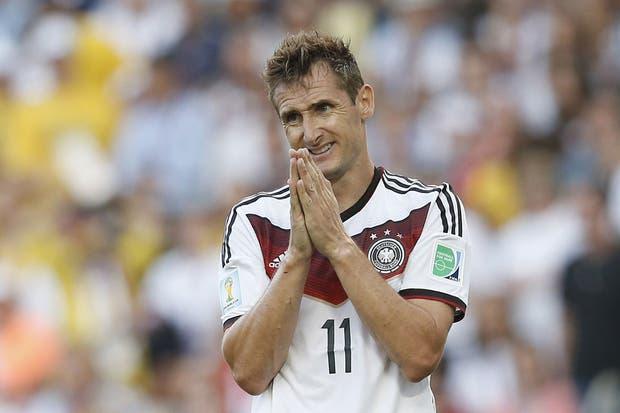 Klose le dijo adiós a la mannschaft