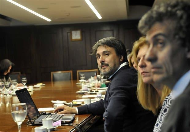Esteban Mangarelli, responsable de la Región Hidrovías de la Dirección General de Aduanas